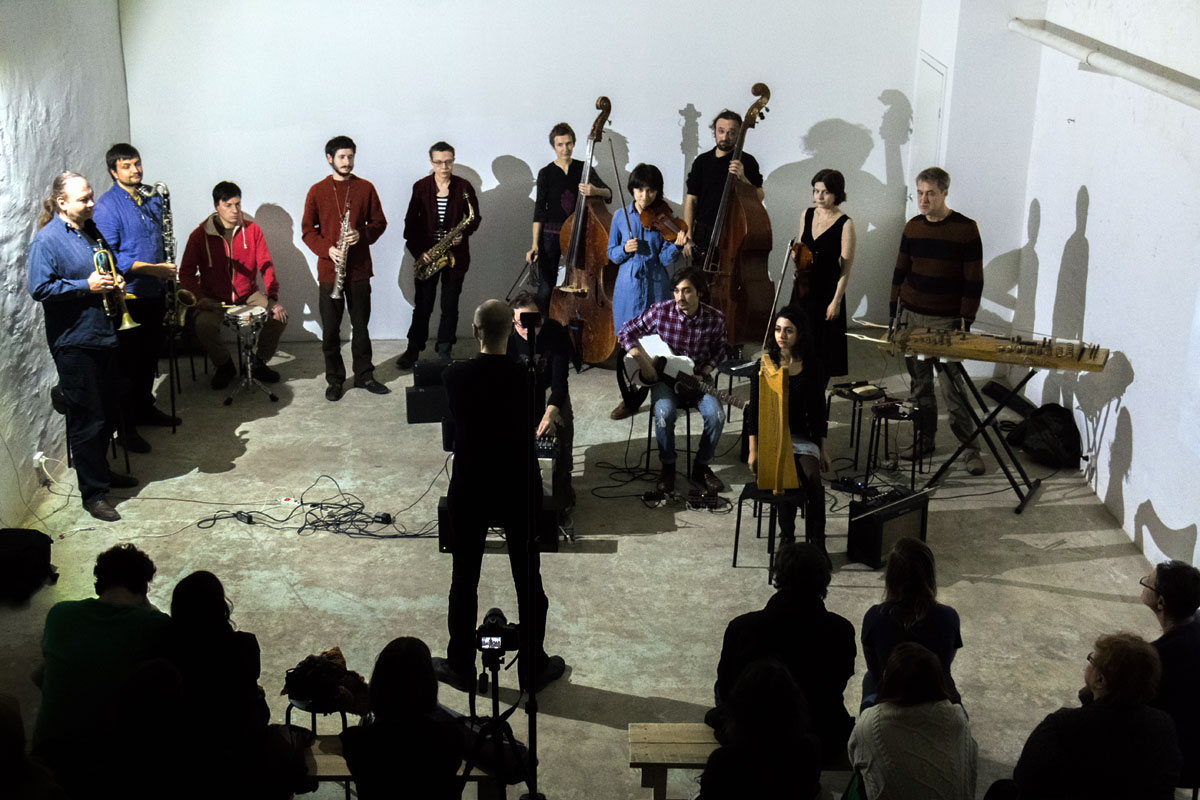 INTERCEPTION for improvising orchestra and radio broadcast