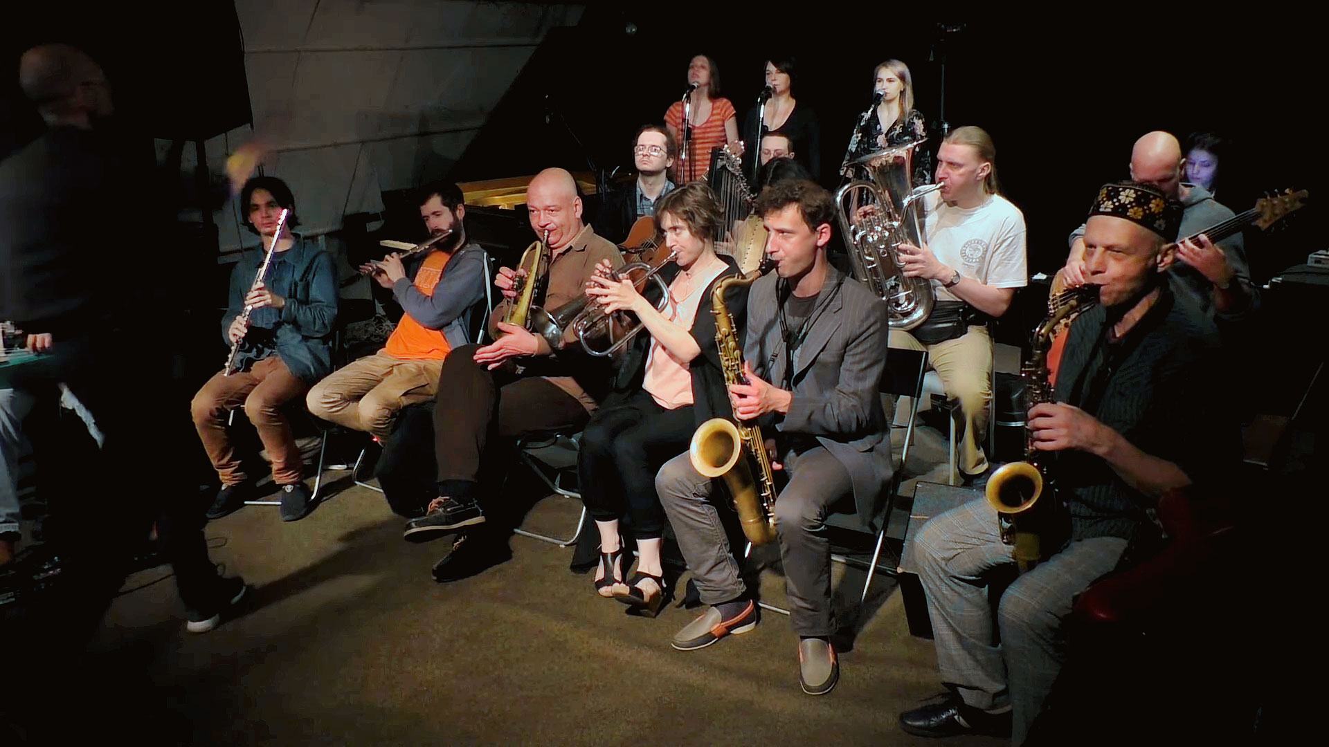 St.Petersburg Improvisers Orchestra: Session LXXXV